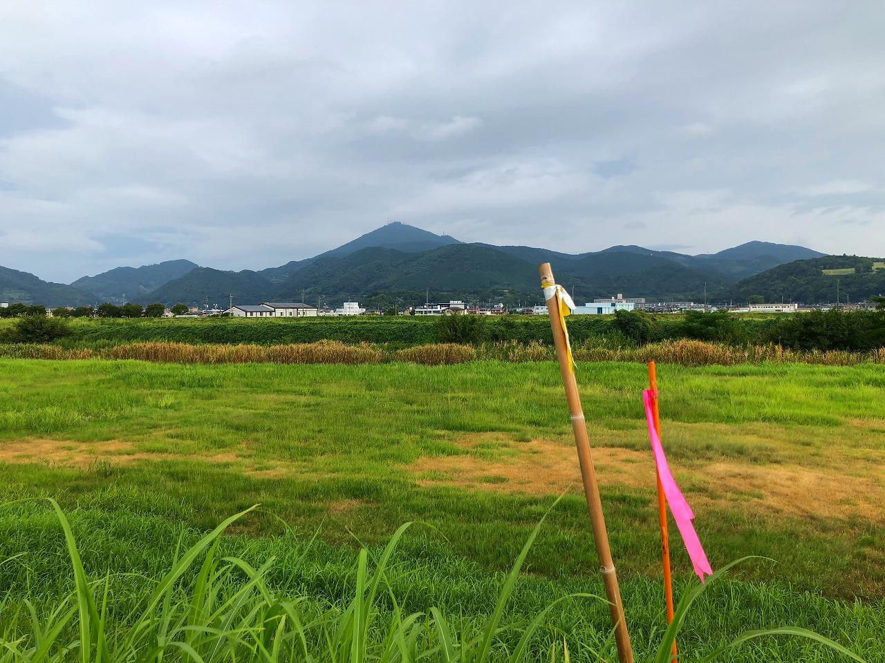 2018.8.30今朝の金峰山です。