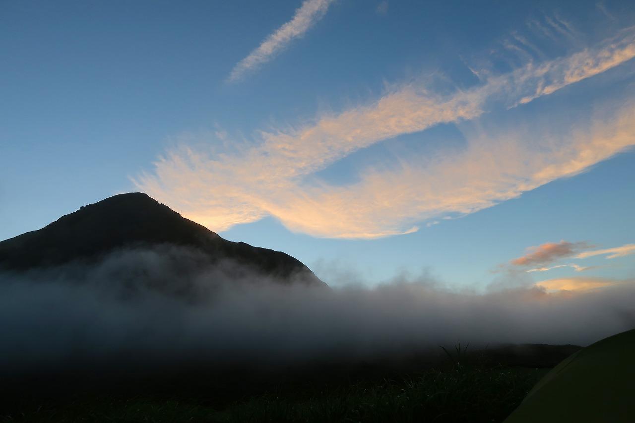 大船山と平治岳