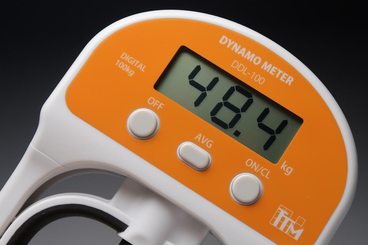 DDL-100 デジタル握力計