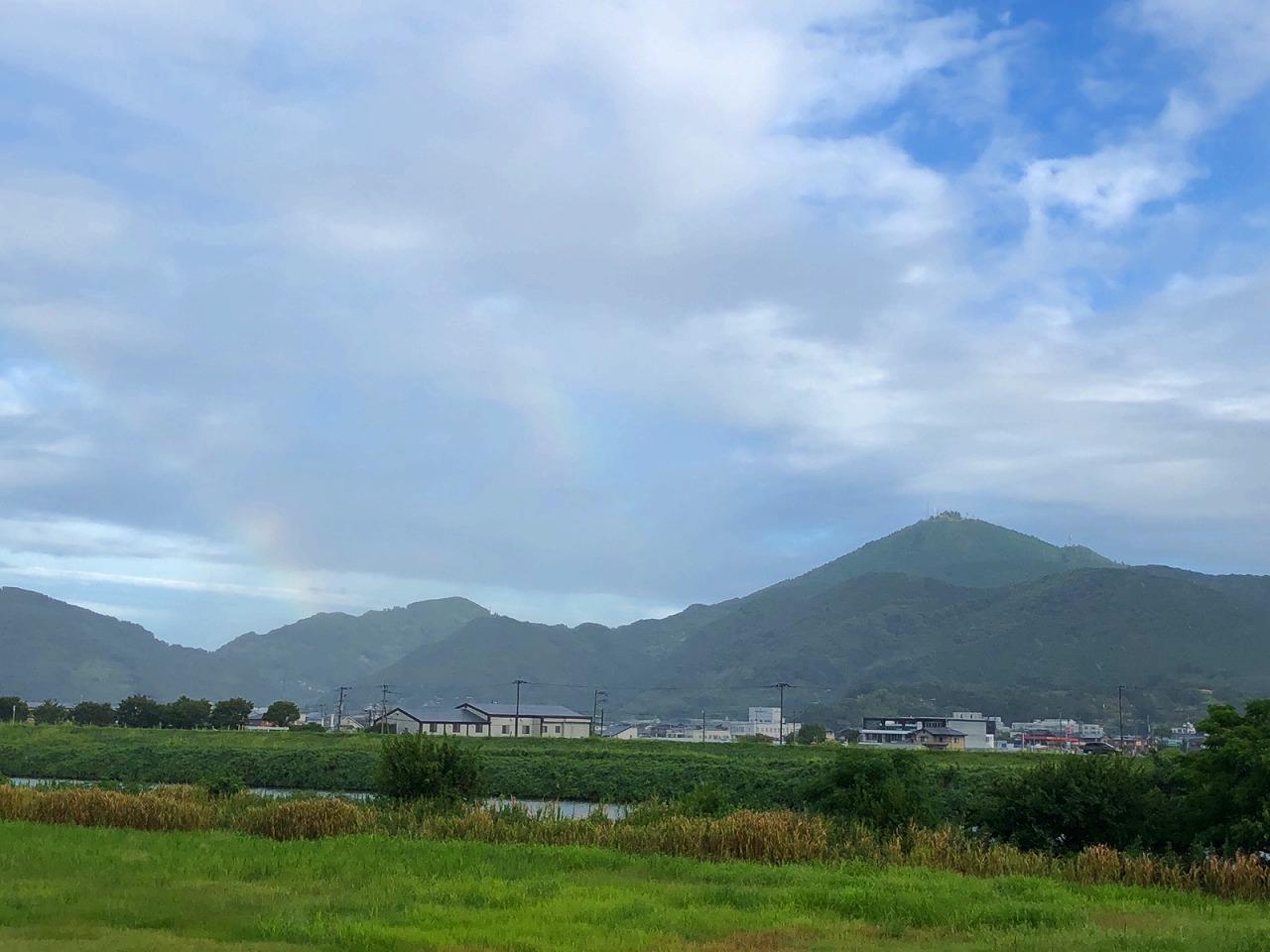 2018.9.4 今朝の金峰山です。
