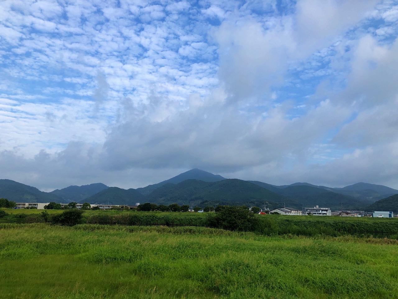 2018.9.5今朝の金峰山