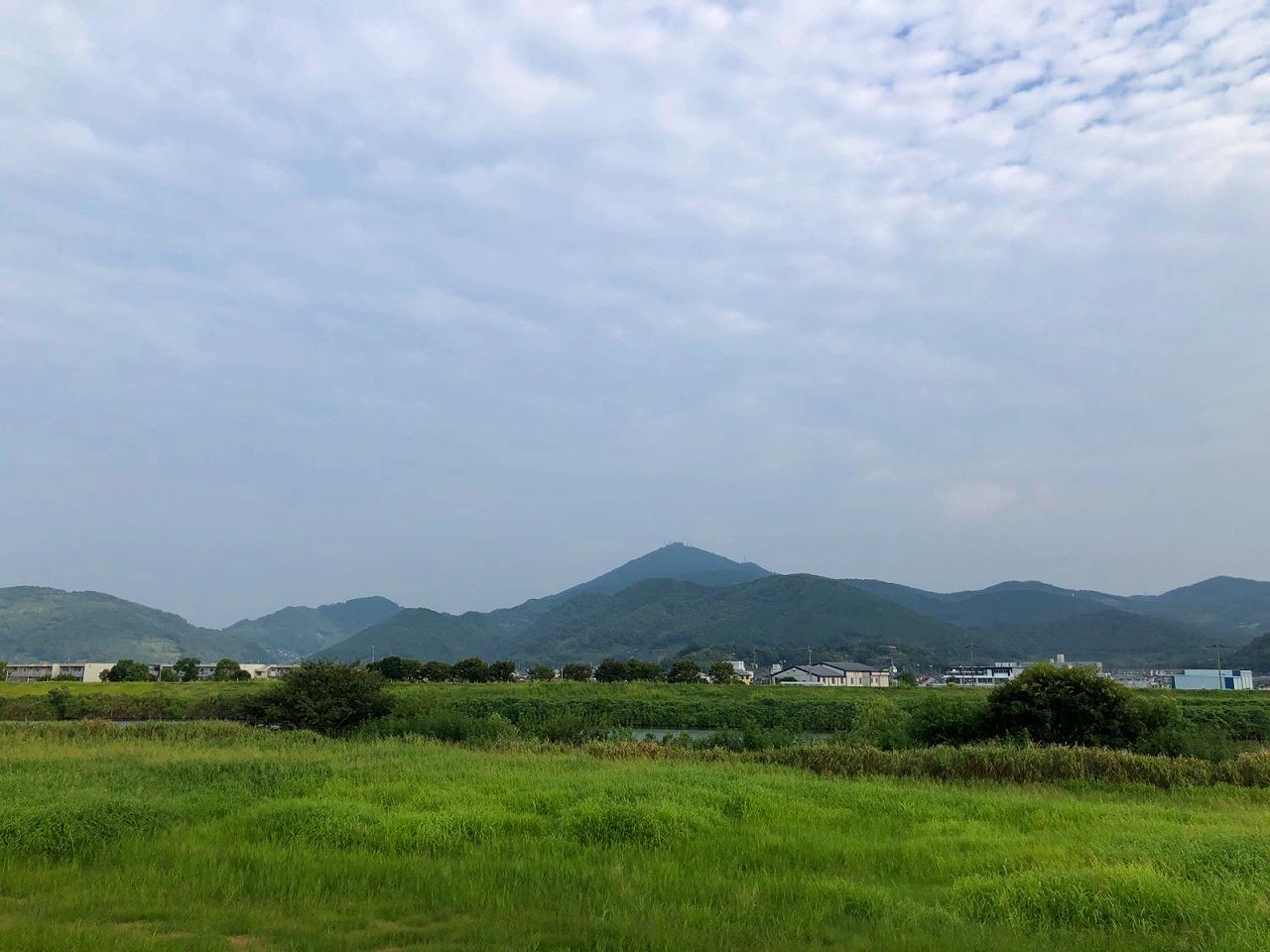 2018.9.6今朝の金峰山です。
