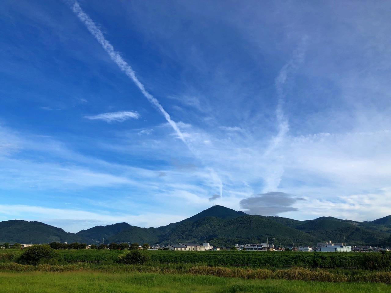 2018.9.13今朝の金峰山です。
