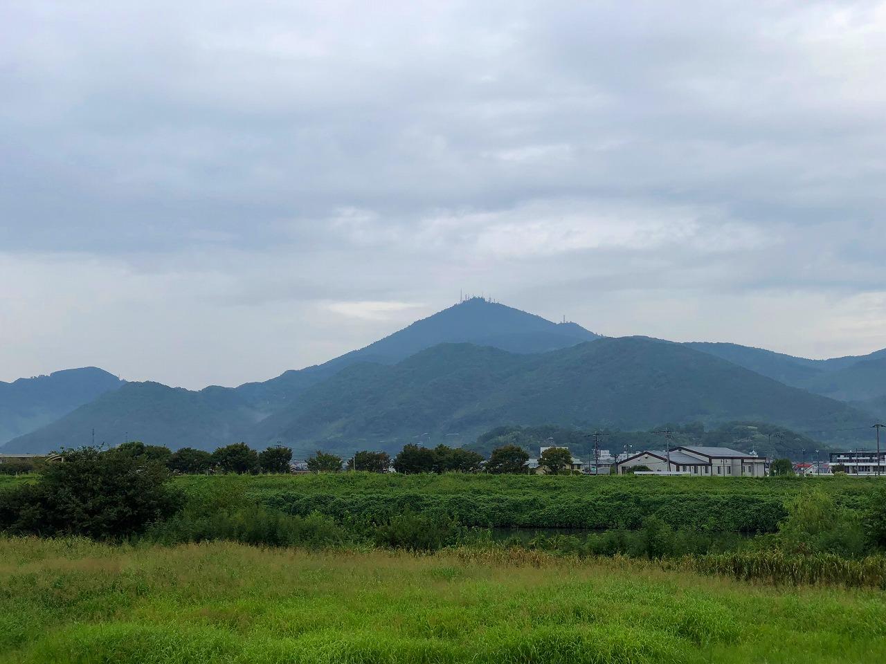 2018.9.14今朝の金峰山です。