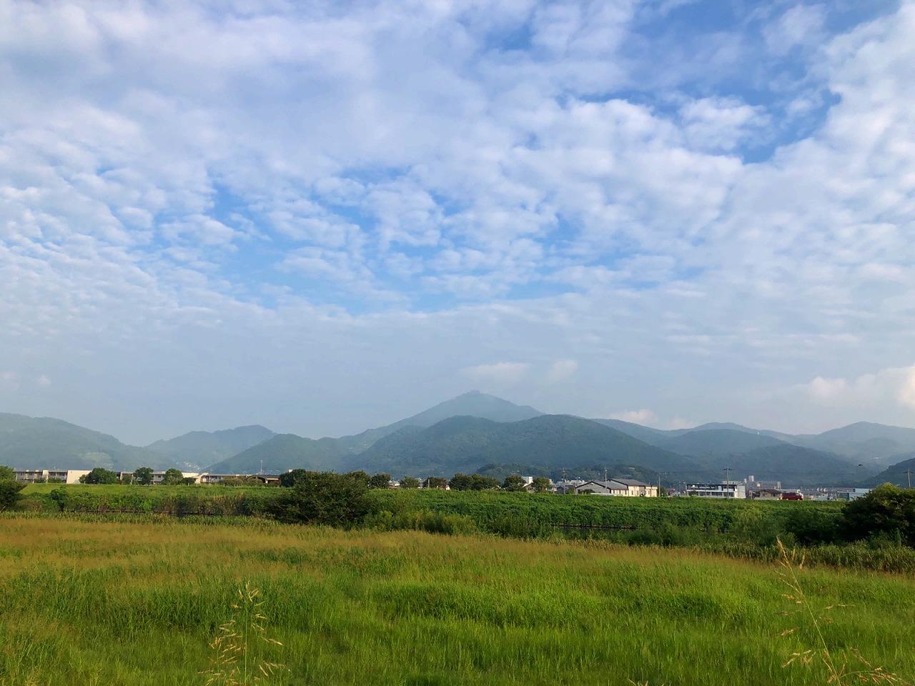 2018.9.18今朝の金峰山です。