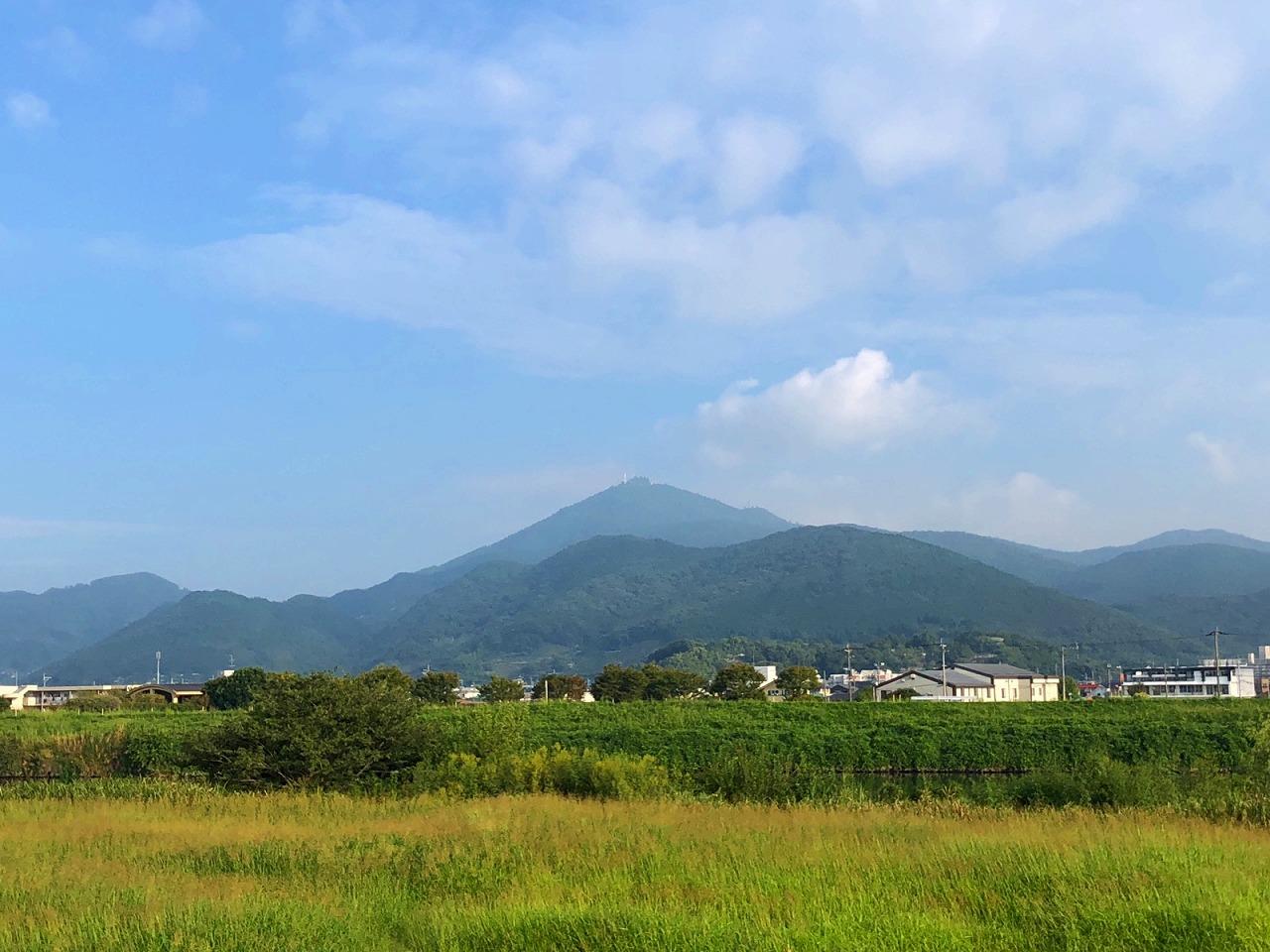 2018.9.19今朝の金峰山です。