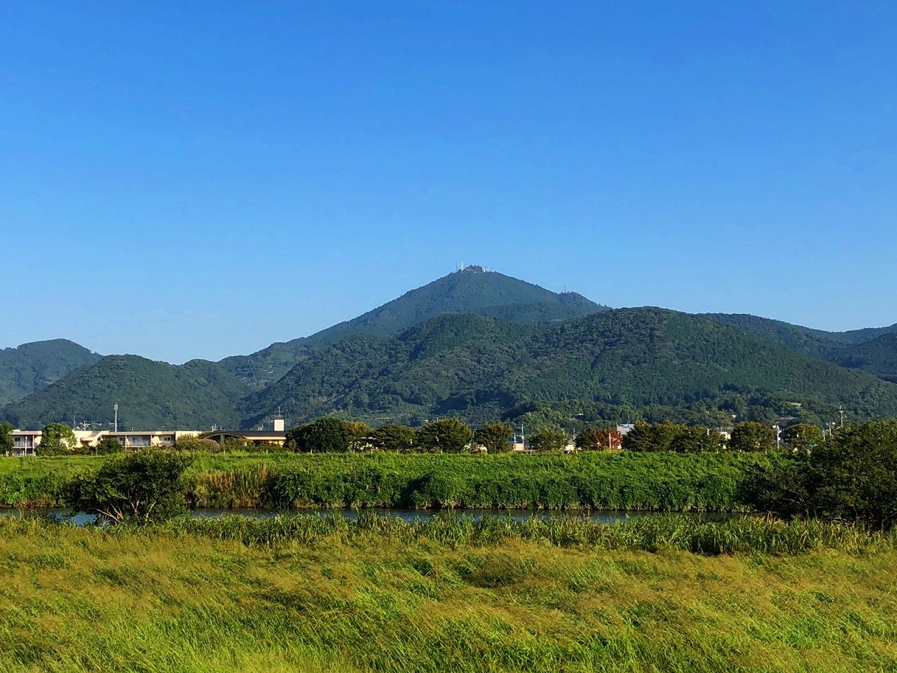 2018.9.25今朝の金峰山です。