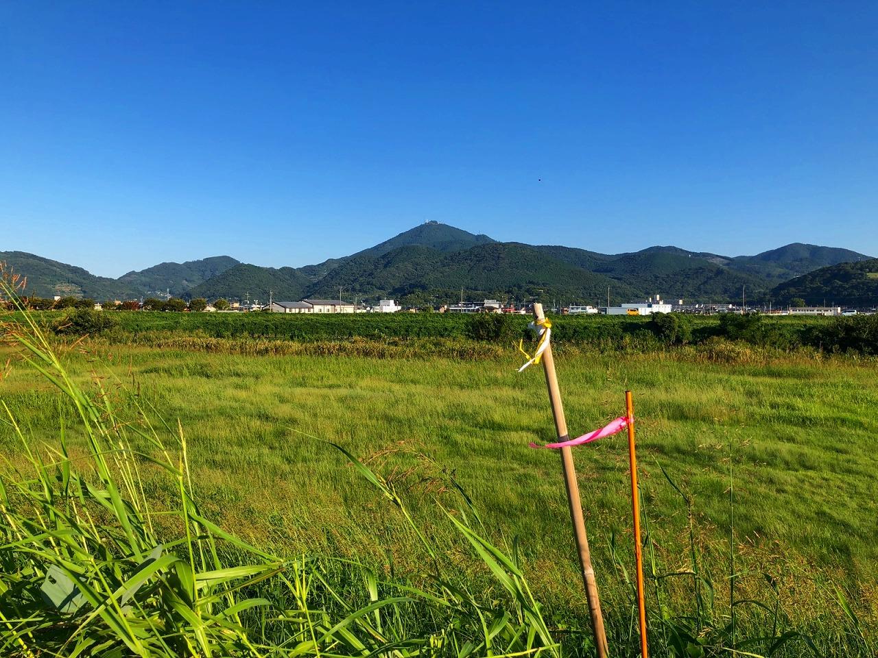2018.9.27今朝の金峰山です。
