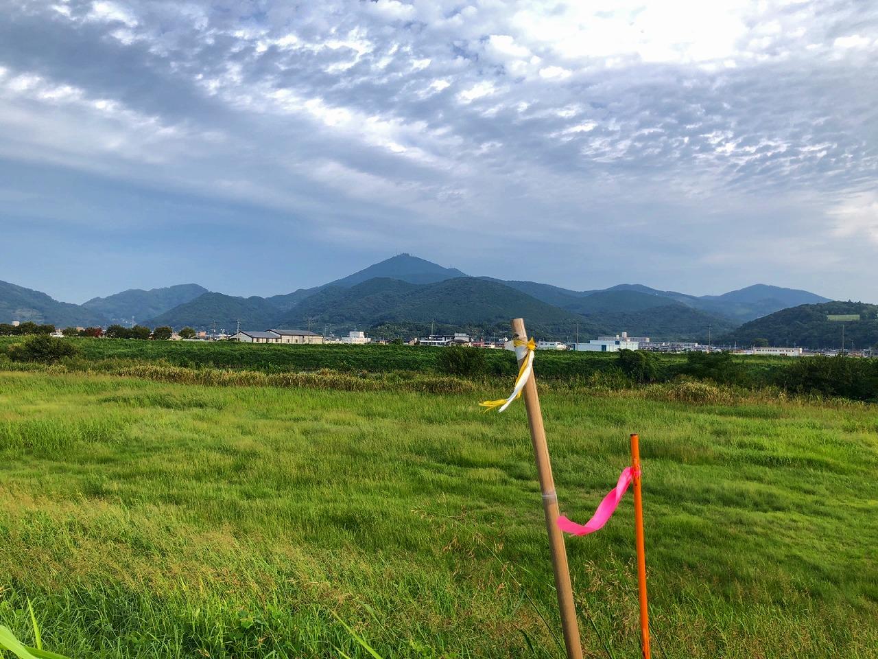 2018.9.26今朝の金峰山です。
