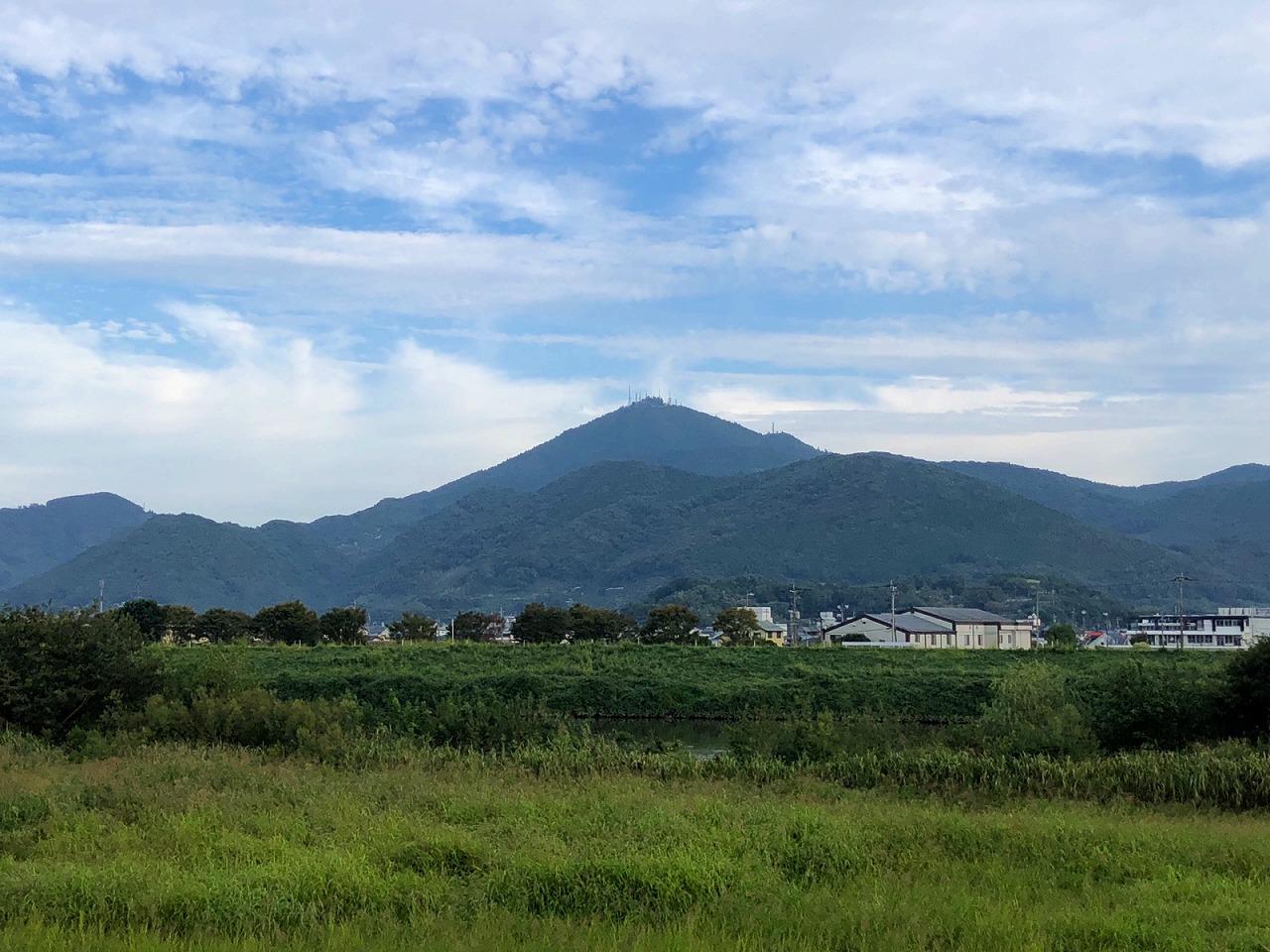 2018.10.2今朝の金峰山です。