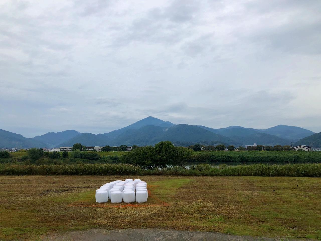今朝の金峰山です。2018.10.4