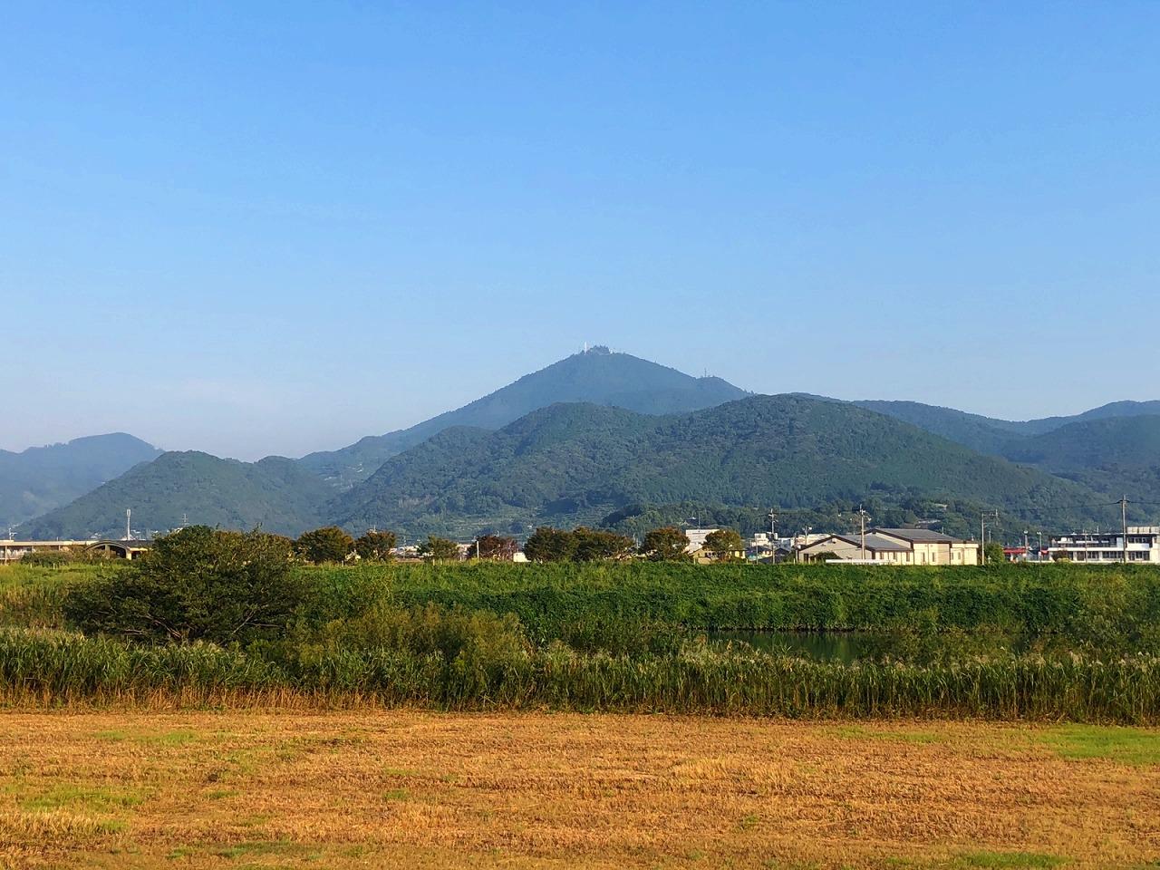 2018.10.9今朝の金峰山です。
