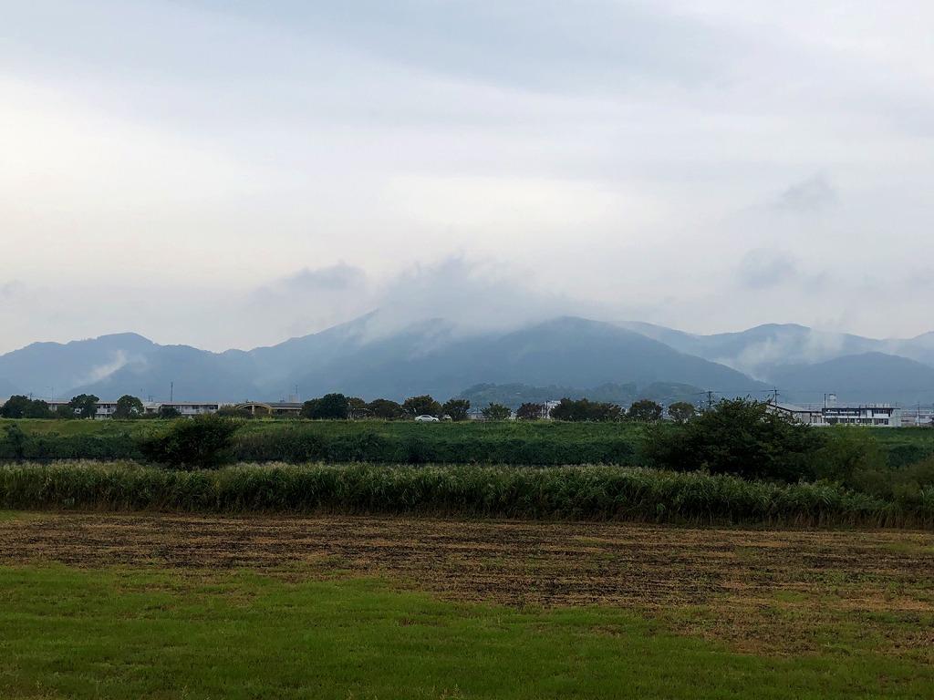 2018.10.11今朝の金峰山です。