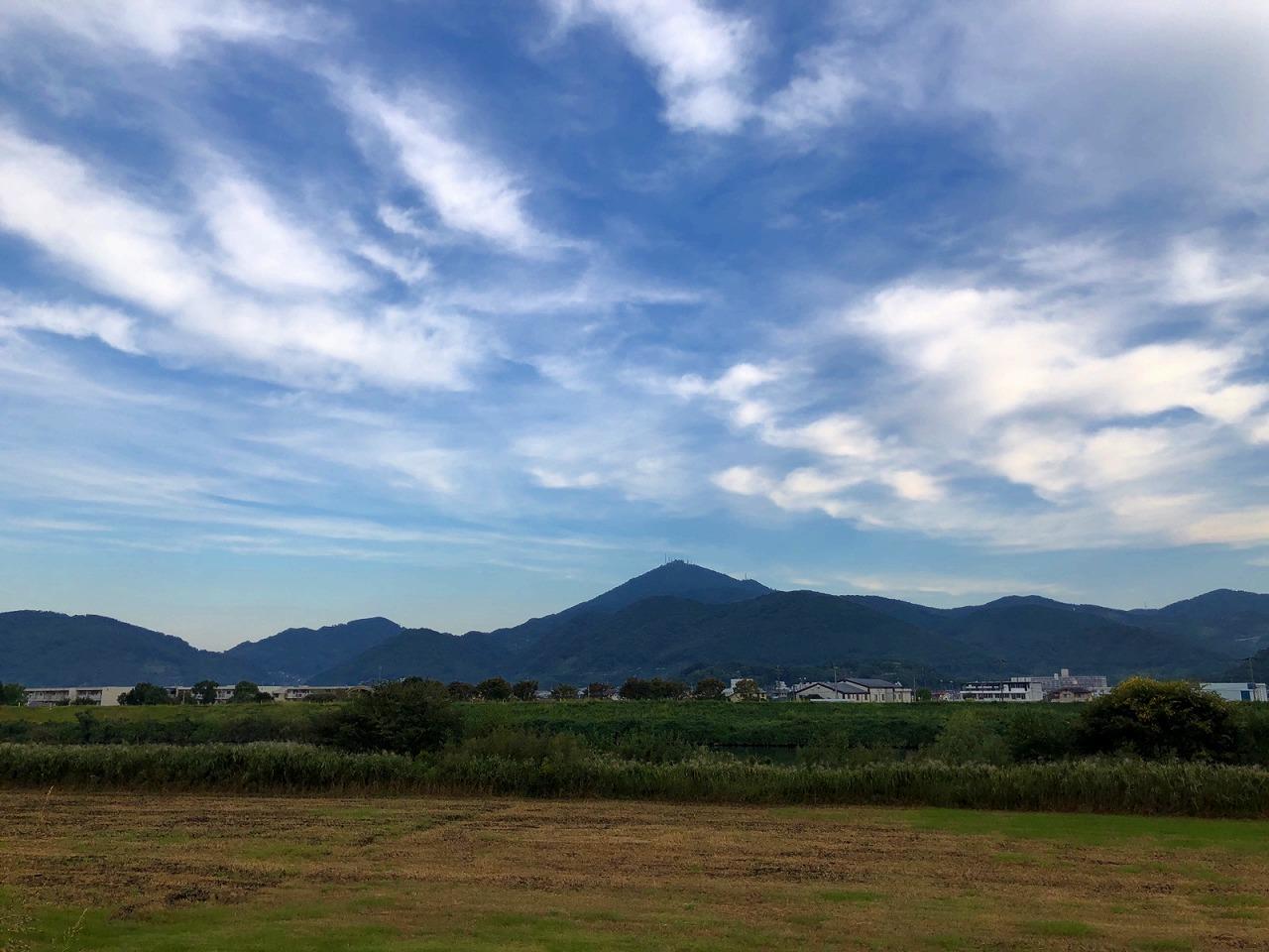 2018.10.12今朝の金峰山です。