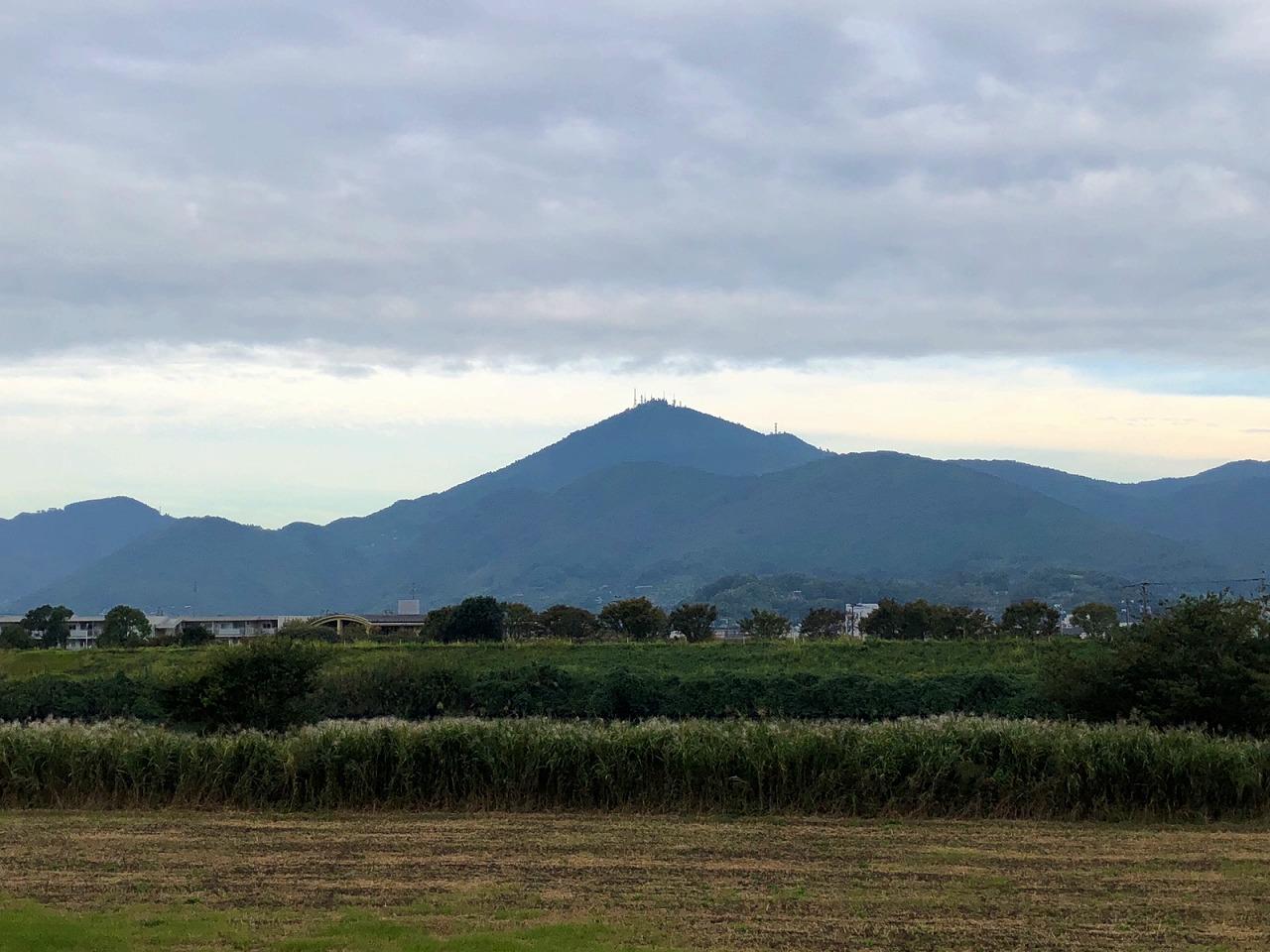 2018.10.15今朝の金峰山です。