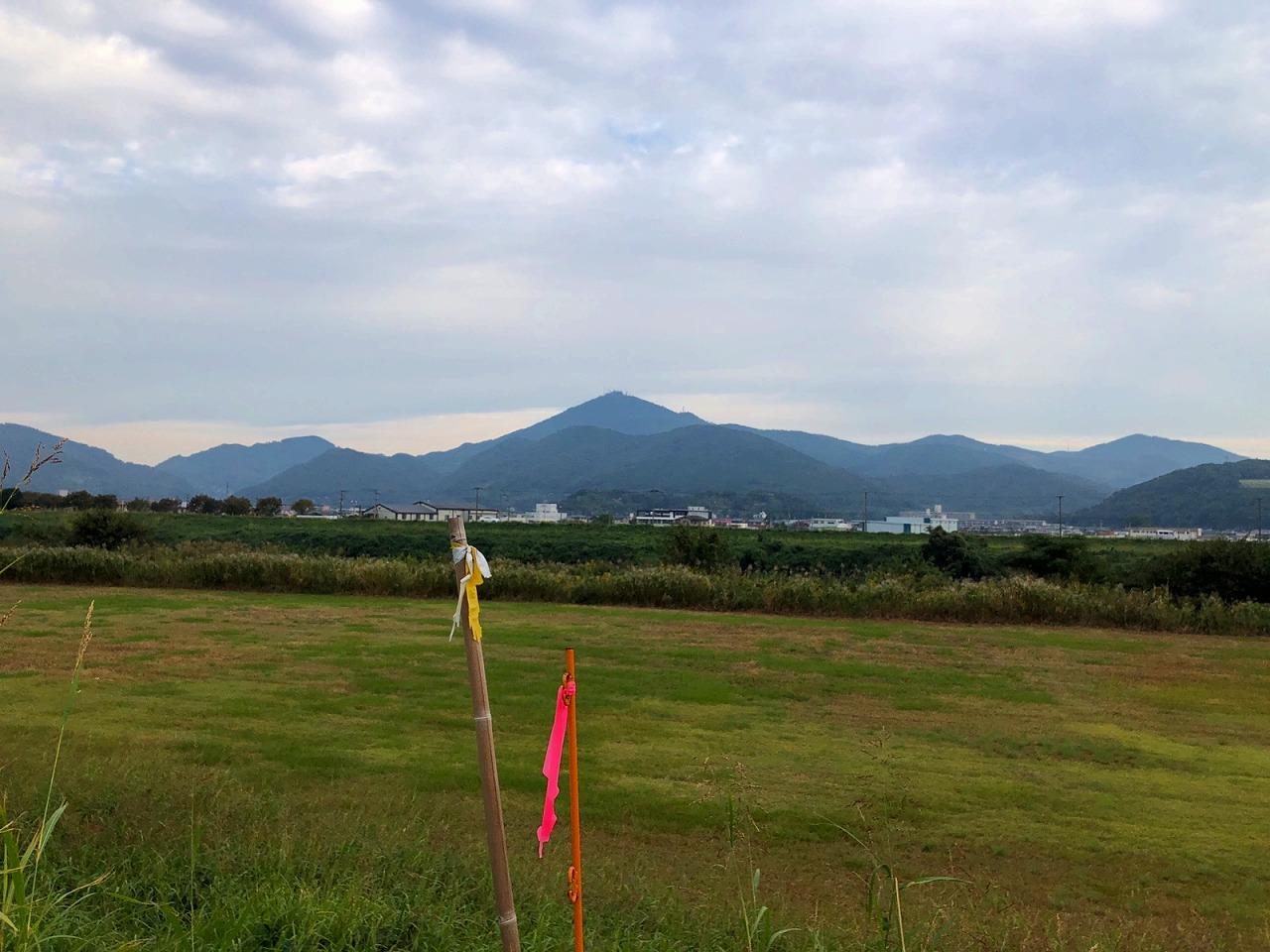 2018年10月16日 今朝の金峰山です。