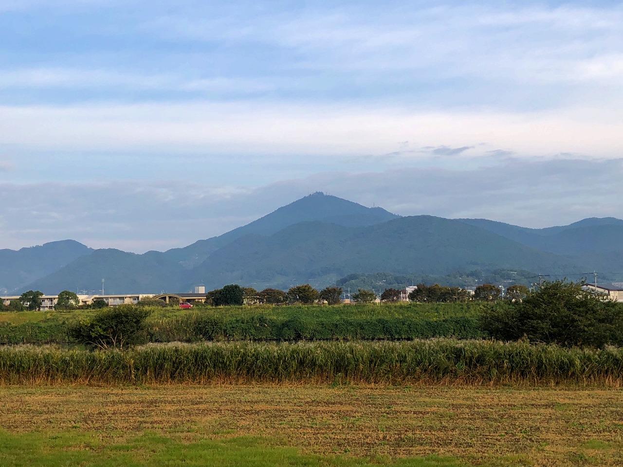 2018.10.17今朝野金峰山です。