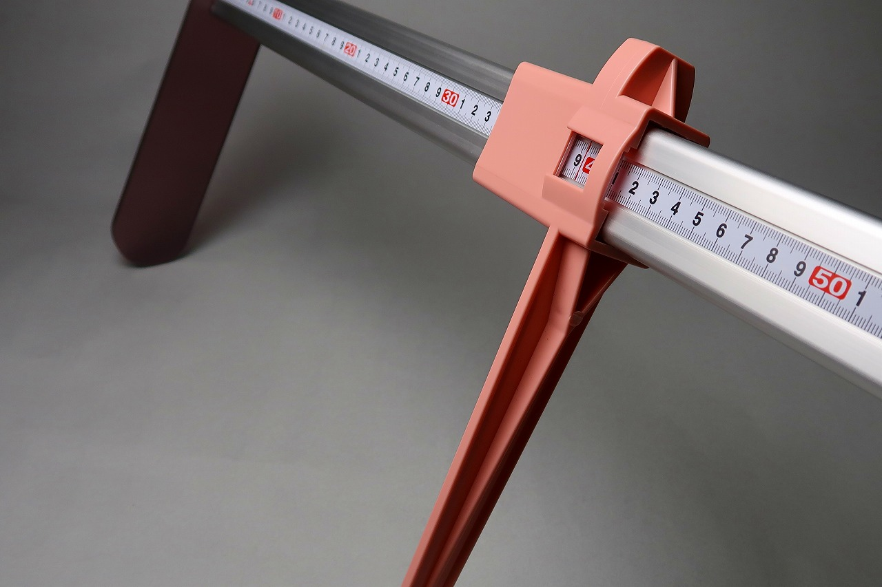 特注 膝高測定器 75cm