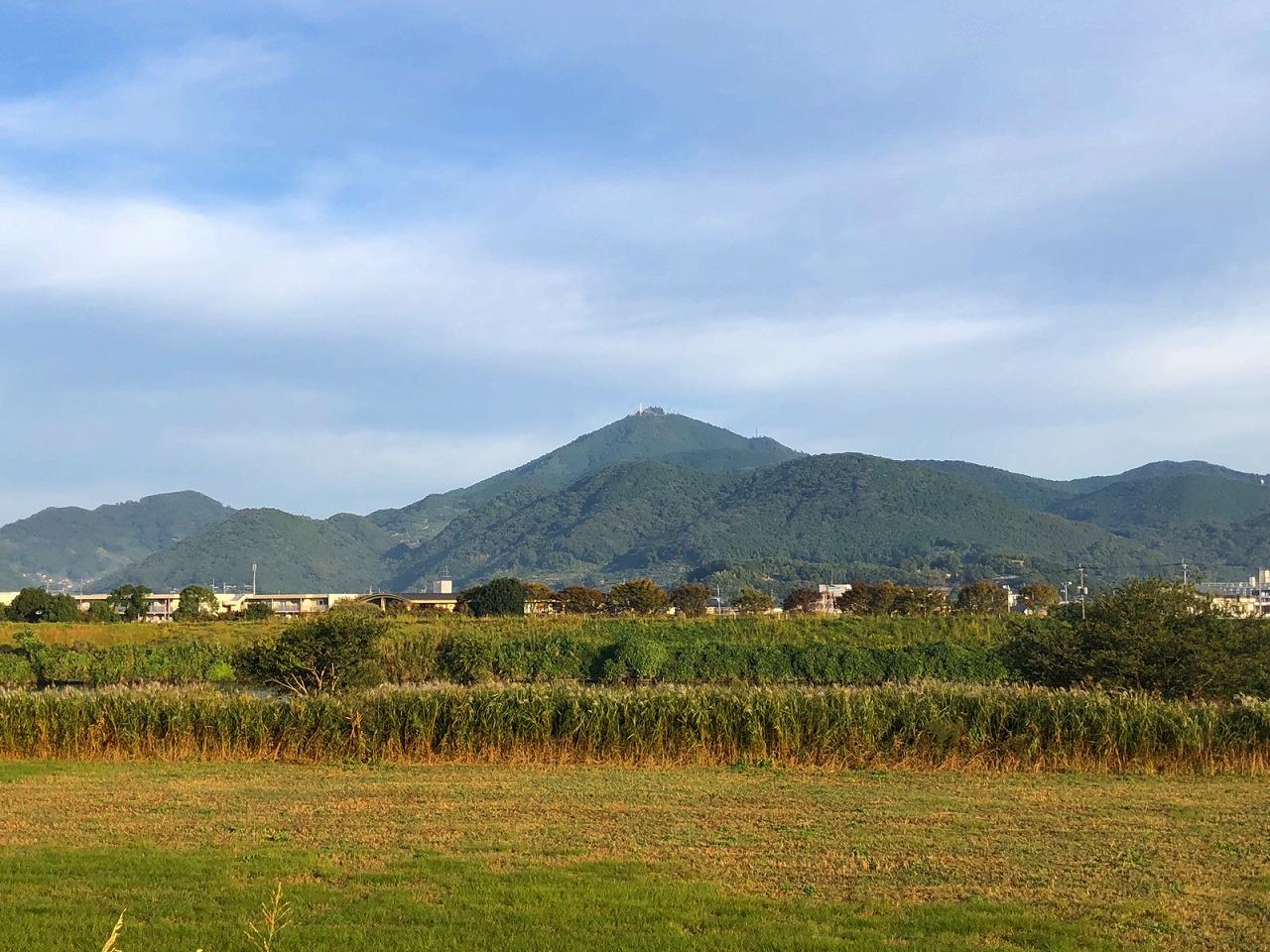 2018.10.22今朝の金峰山です。