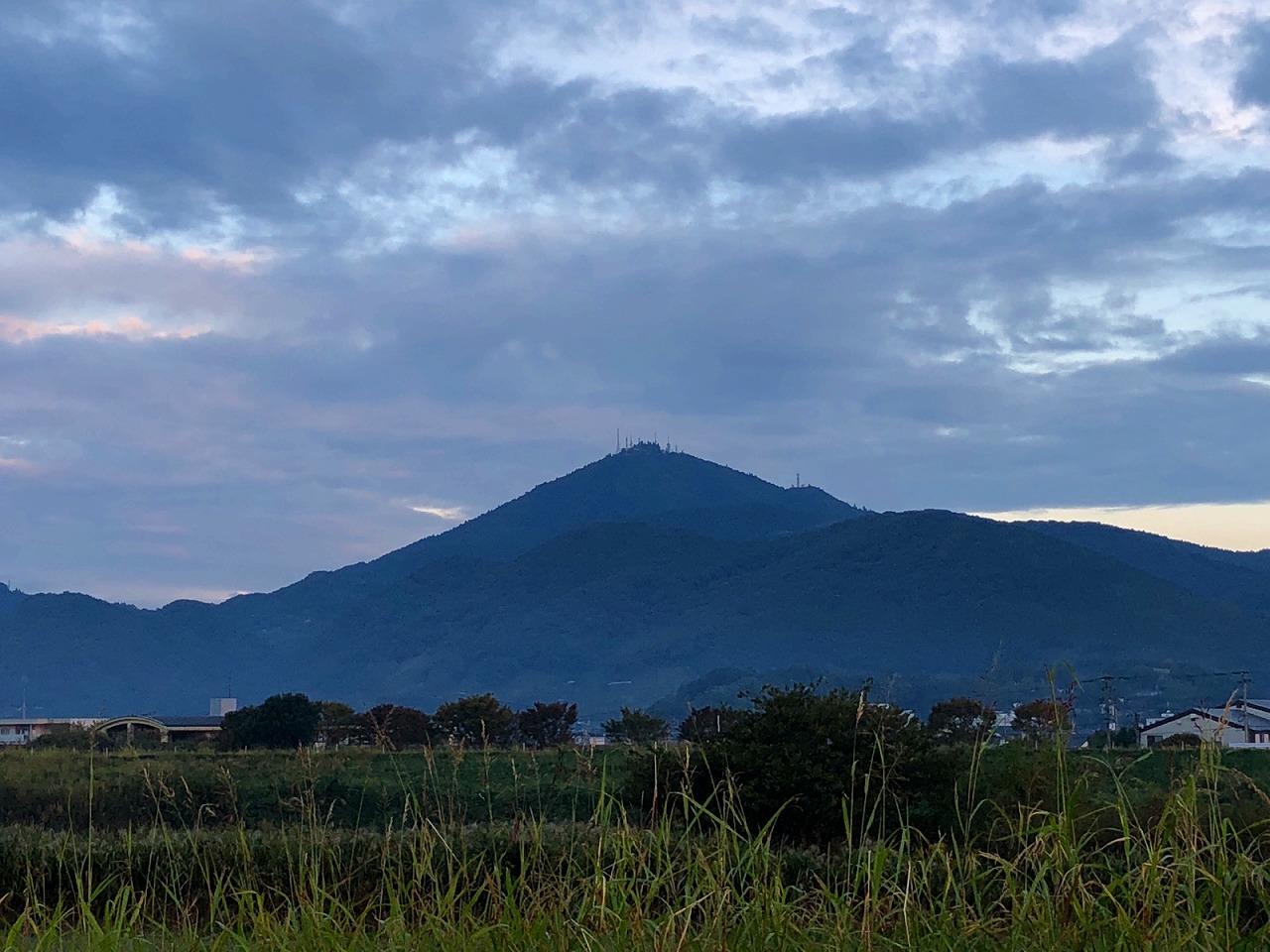 2018.10.23今朝の金峰山です。