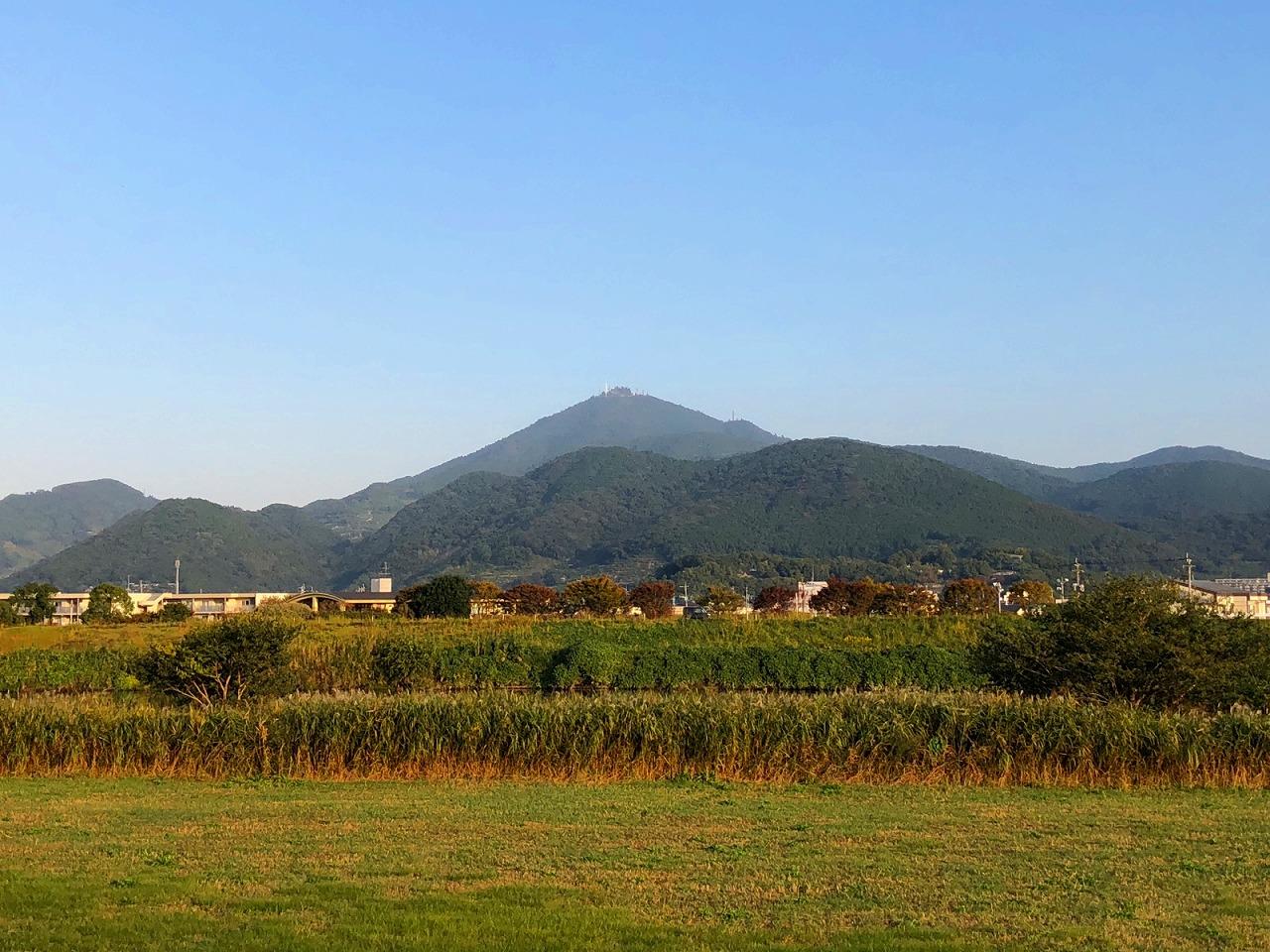 2018.10.29今朝の金峰山です。