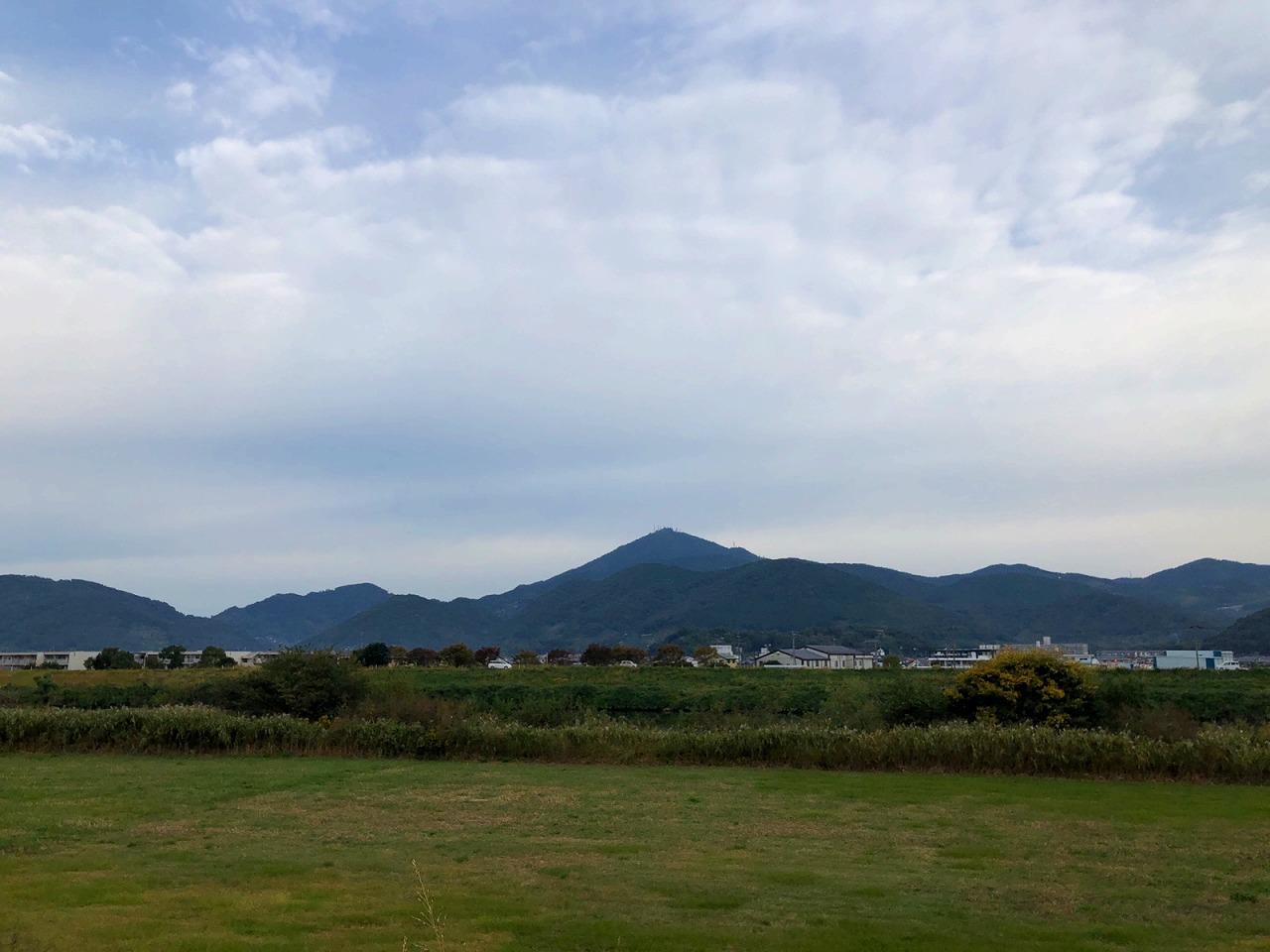 金峰山です。2018.10.31