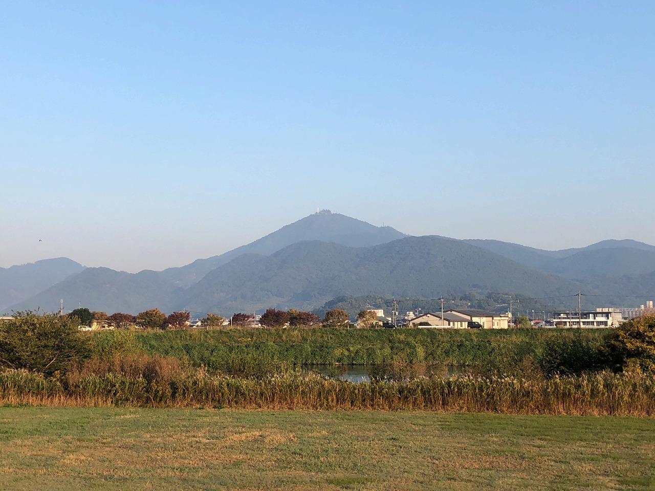 2018.11.5今朝の金峰山です。