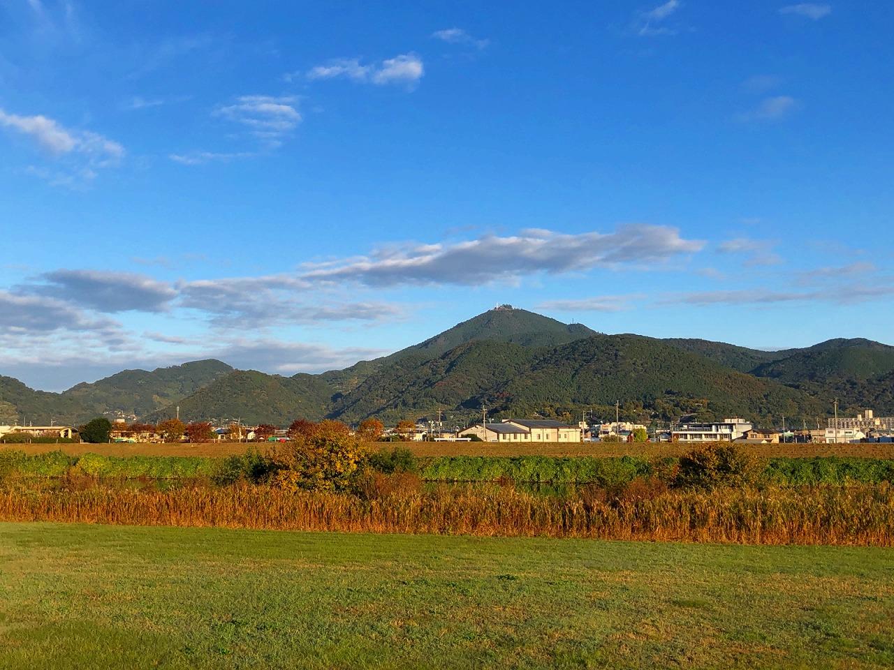 2018.11.14今朝の金峰山です。