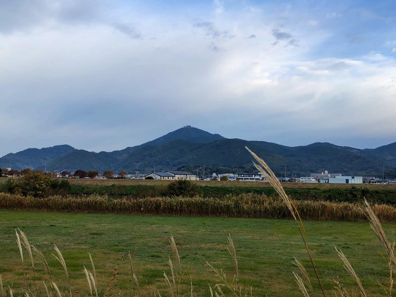 2018.11.15今朝の金峰山です。
