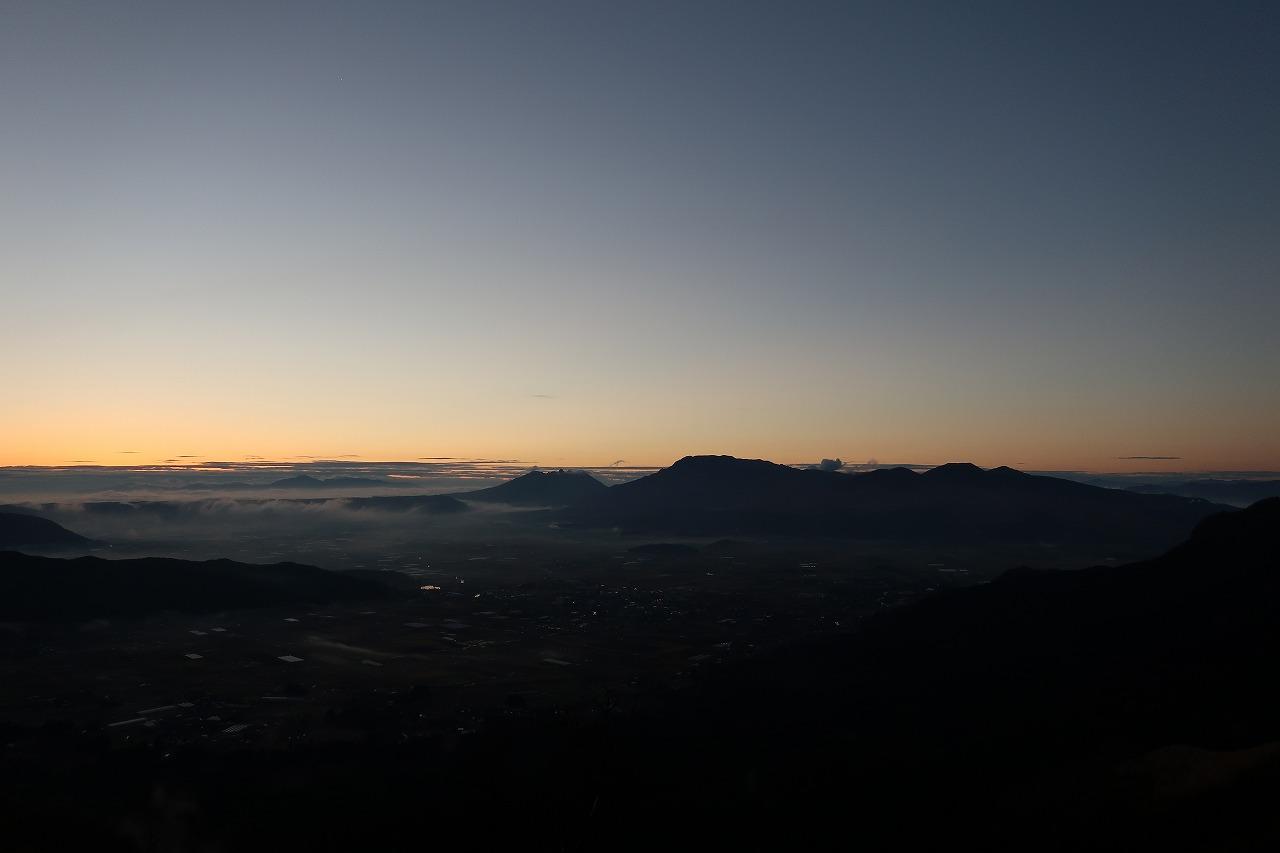阿蘇大観峰朝日