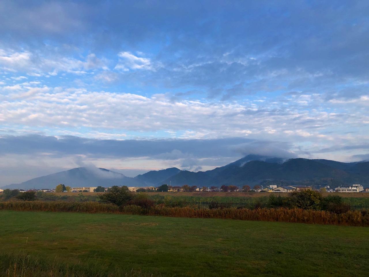 2018.11.22今朝の金峰山です。