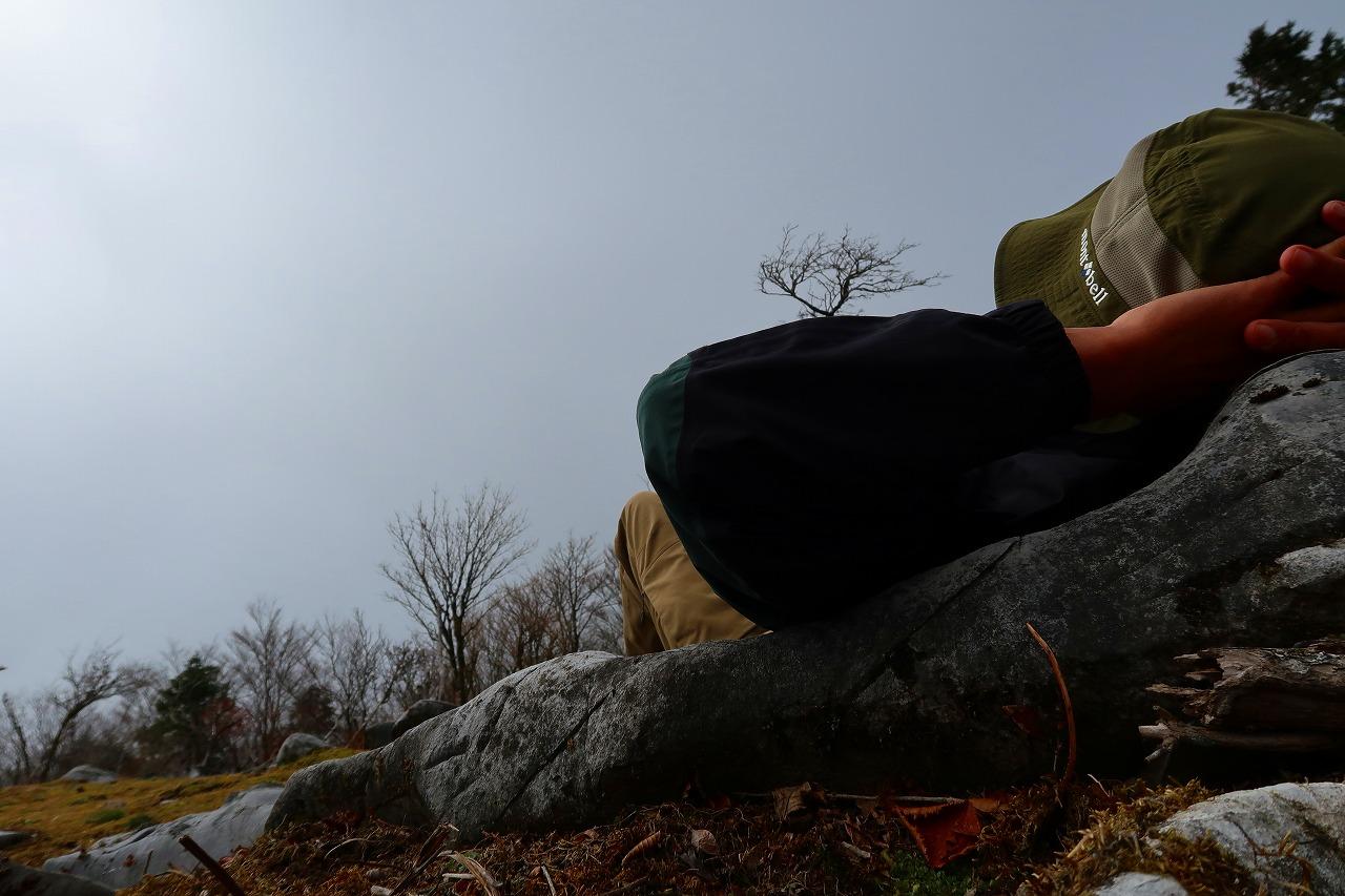 京丈山でお昼寝