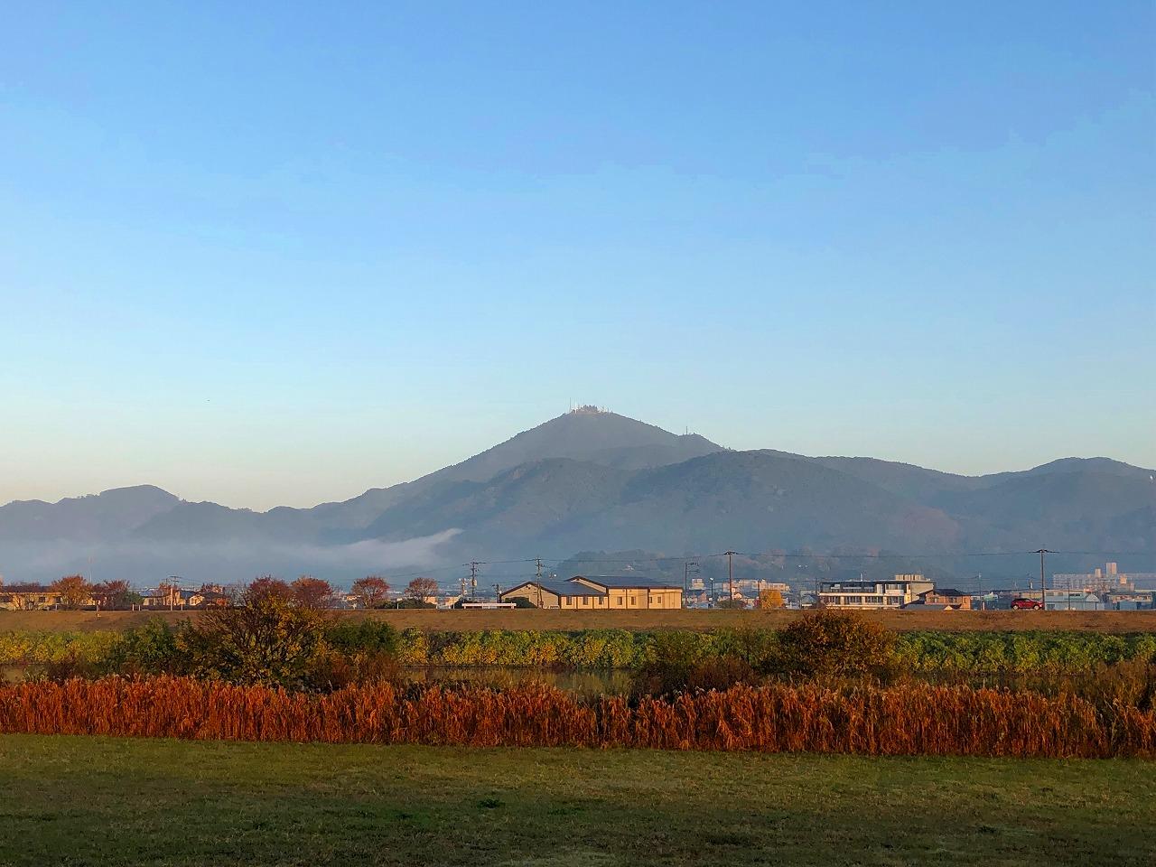 2018.11.29今朝の金峰山です