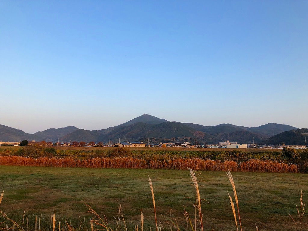 2018.11.30今朝の金峰山です。