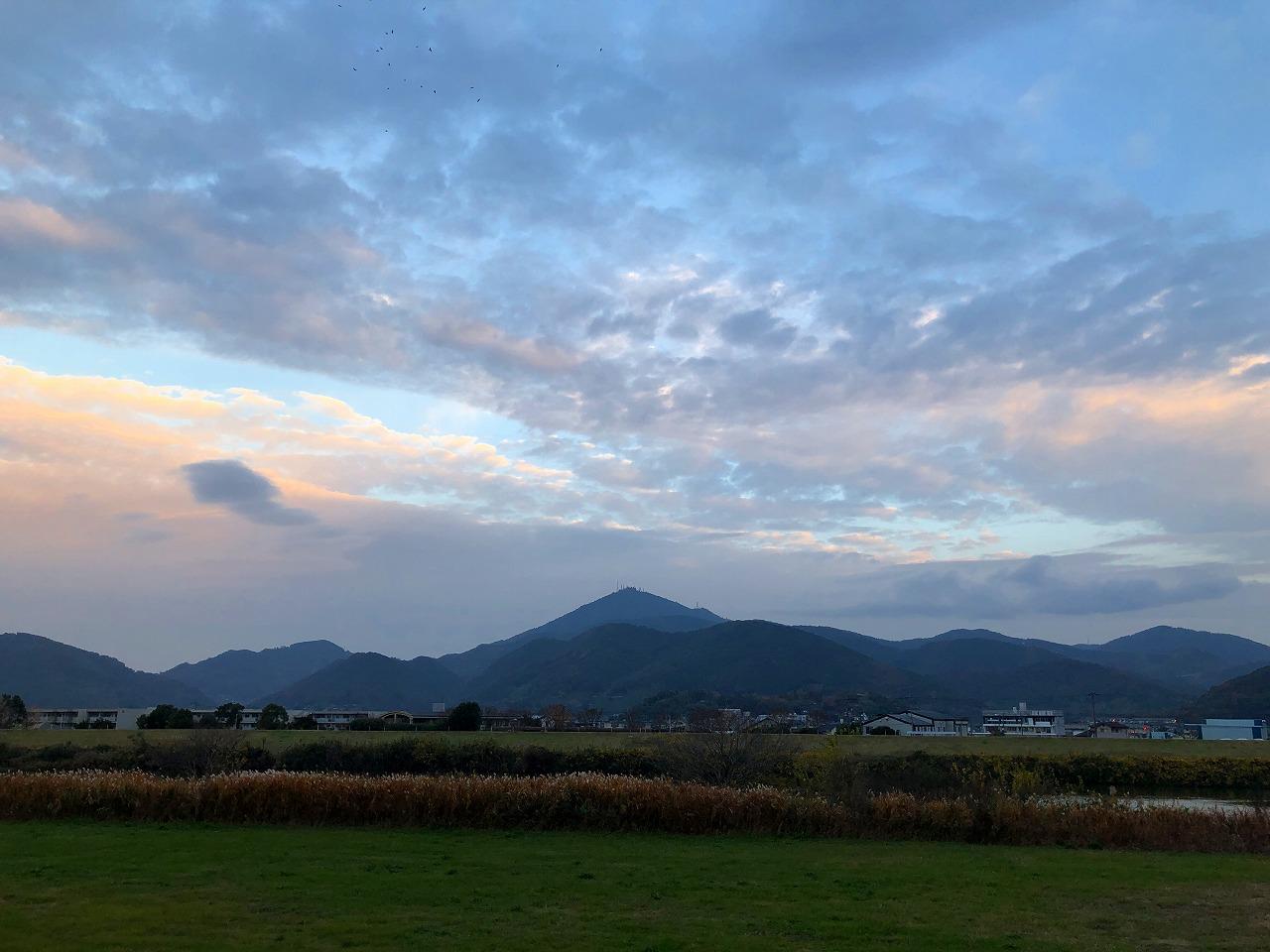 2018.12.5今朝の金峰山です。