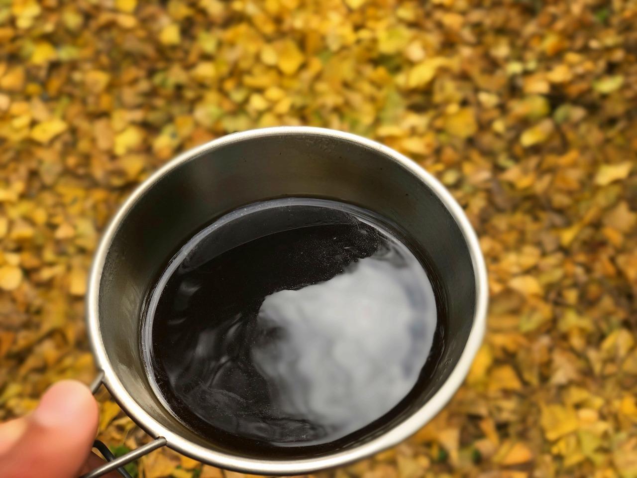 金峰山でコーヒータイム