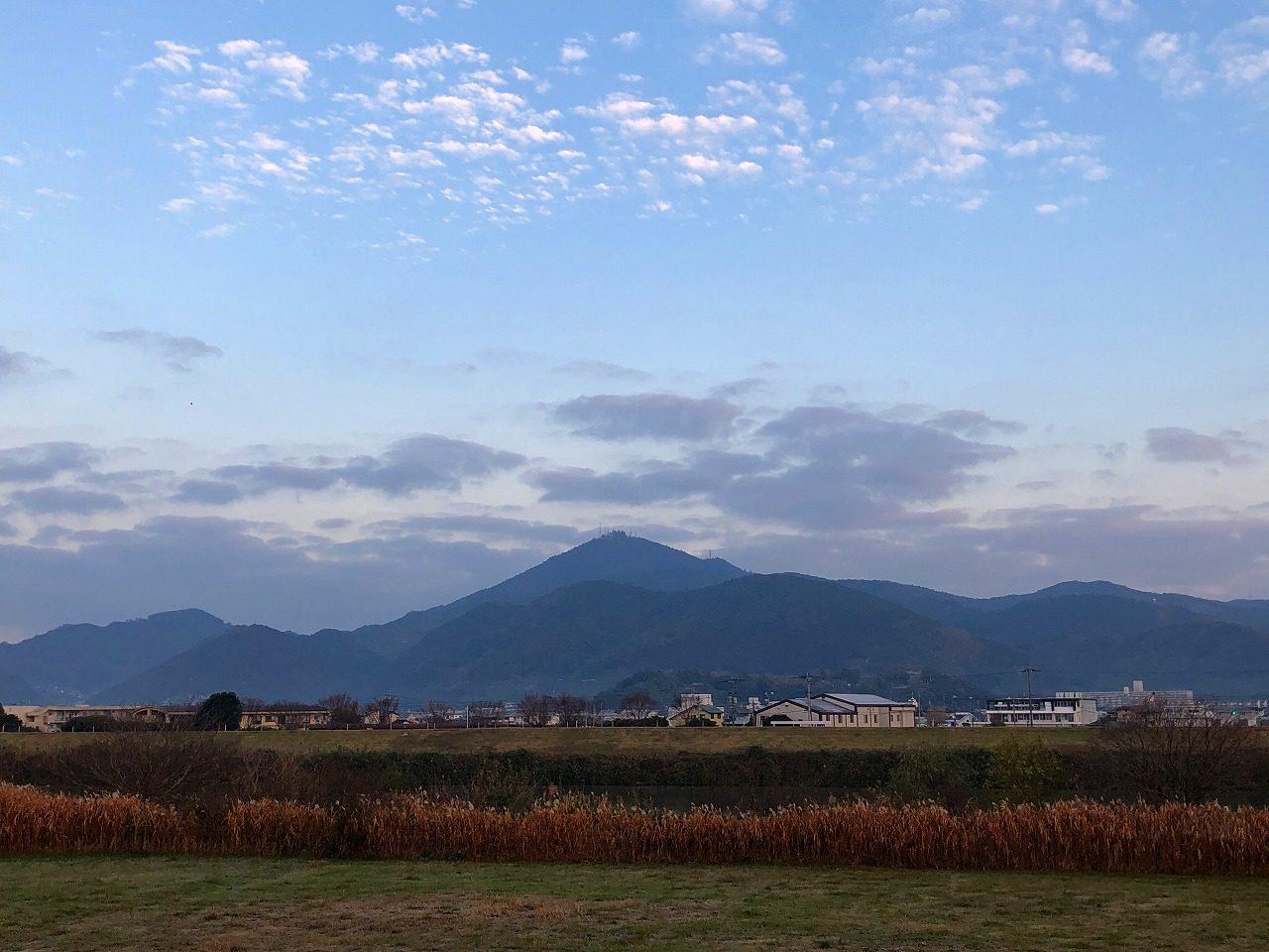 2018.12.13今朝の金峰山です。