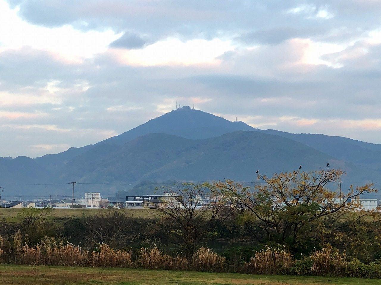 2018.12.14今朝の金峰山です!