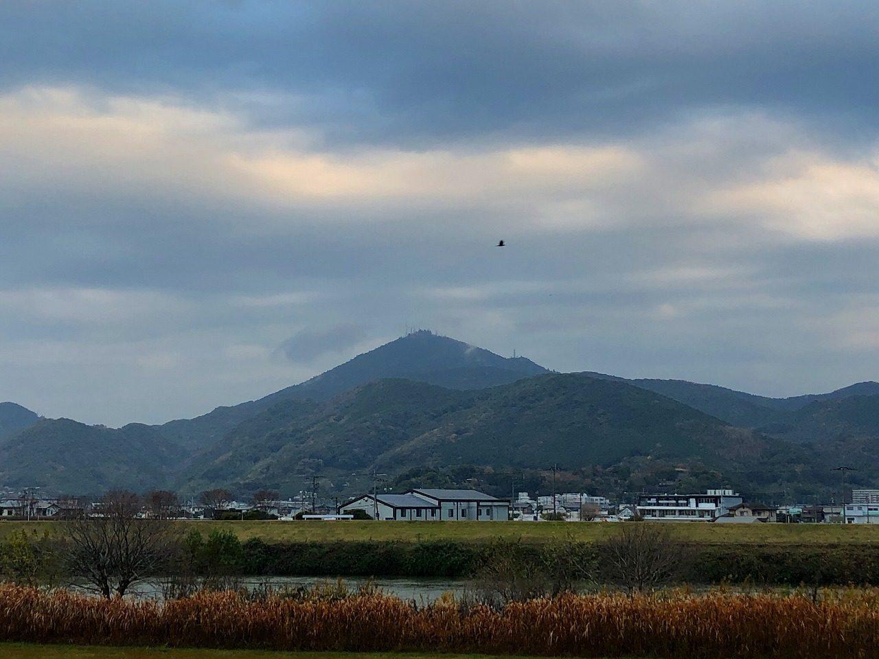 2018.12.17今朝の金峰山です。