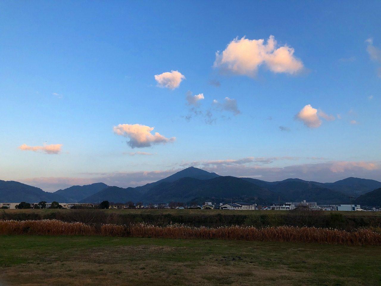2018.12.18今朝の金峰山です。