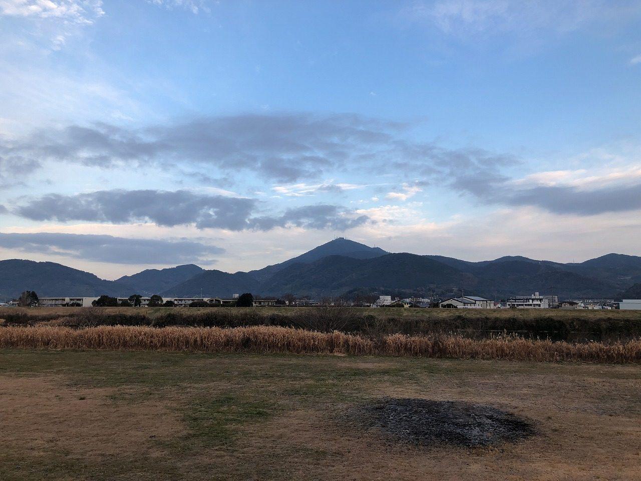 2019.1.17今朝の金峰山です。