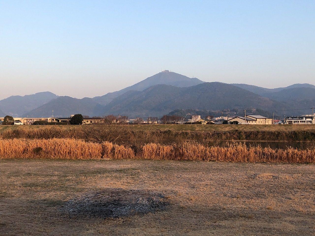 2019.1.25今朝の金峰山です。