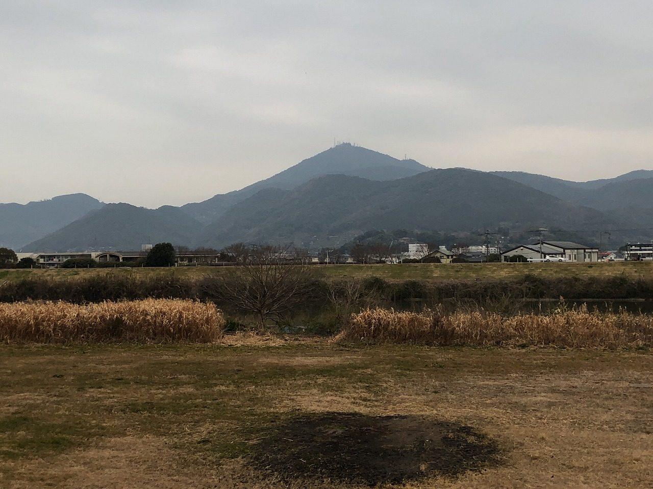 2019.1.30今朝の金峰山です。