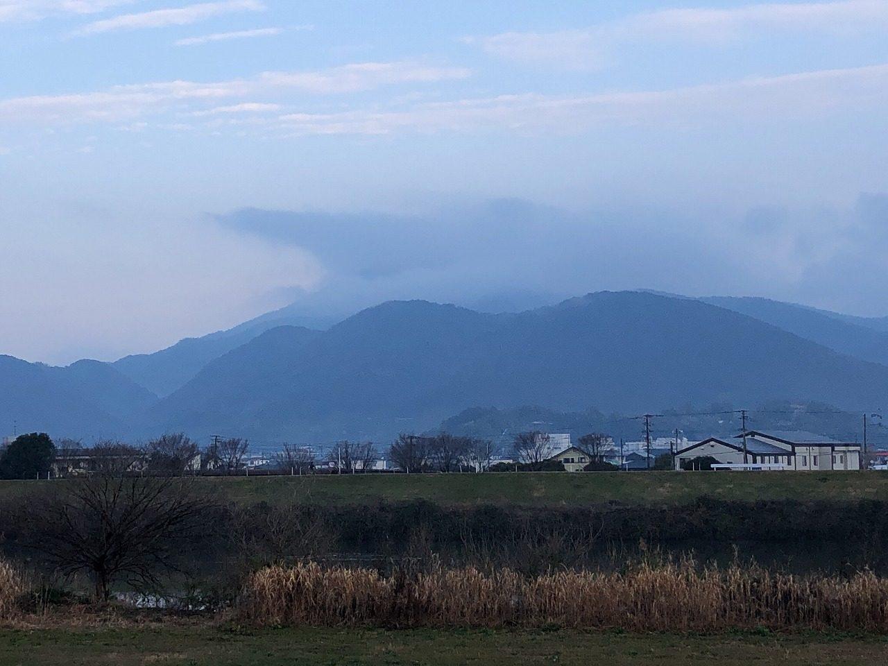 2019.2.13今朝の金峰山です