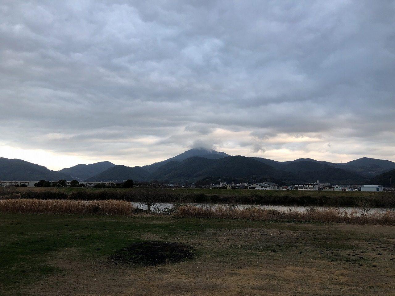 2019.2.20今朝の金峰山です。