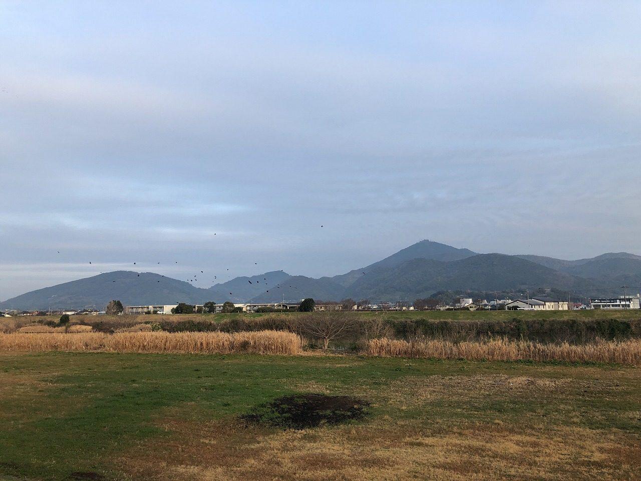 2019.2.25今朝の金峰山です