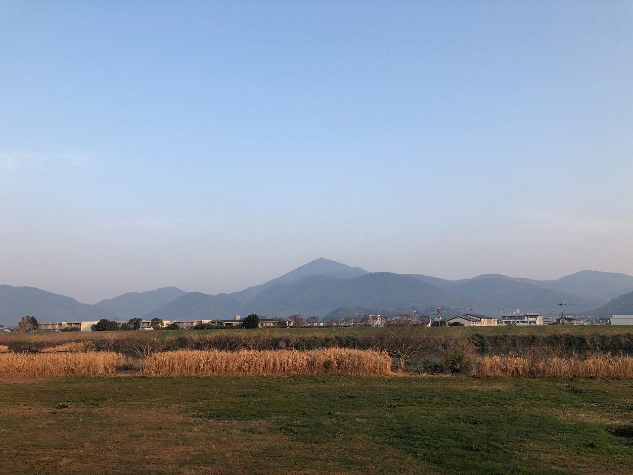 2019.2.26今朝の金峰山です。