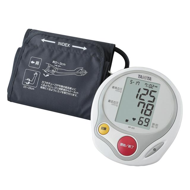 タニタ 上腕式血圧計 BP-222