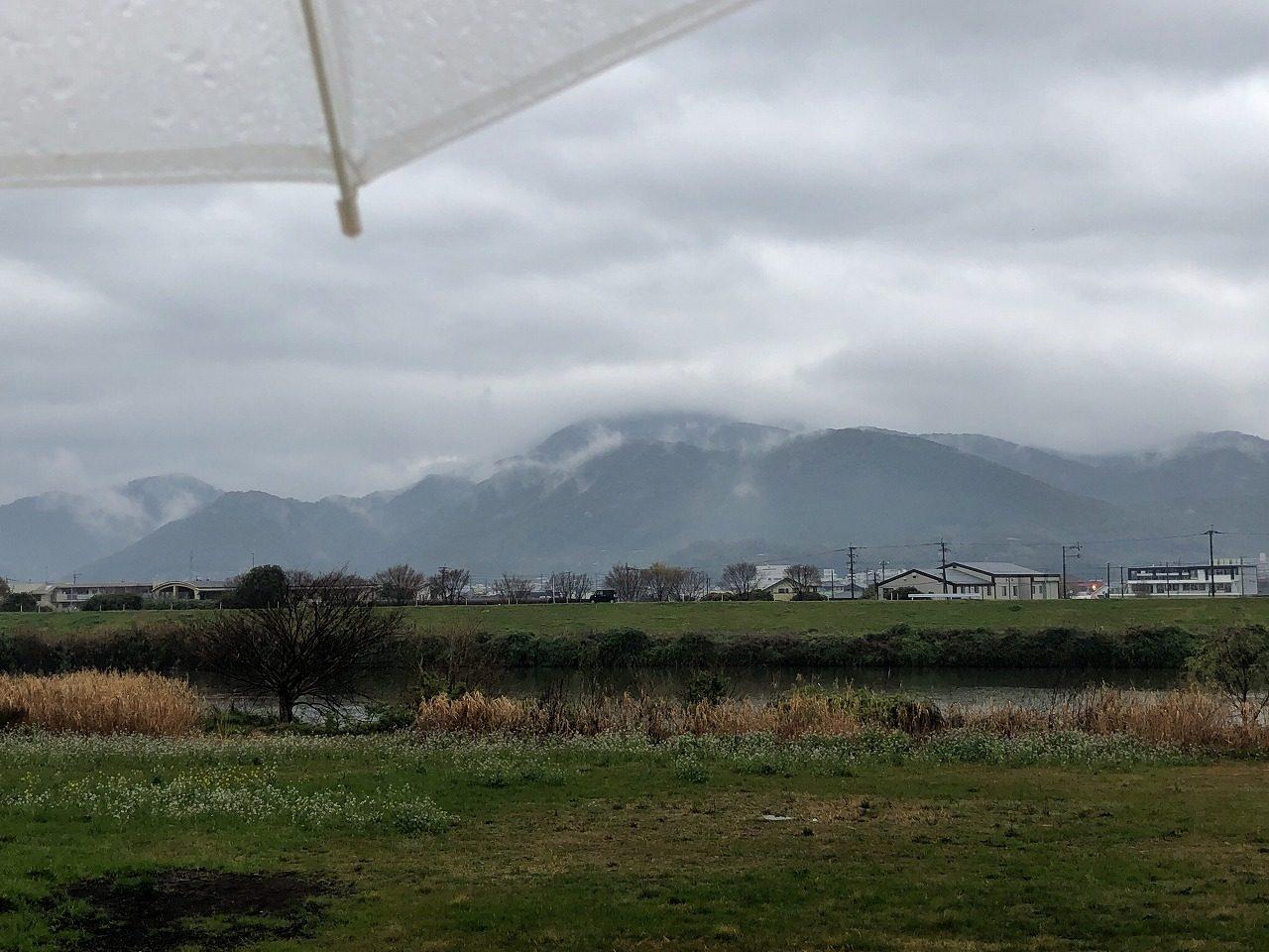 2019.3.19今朝の金峰山です