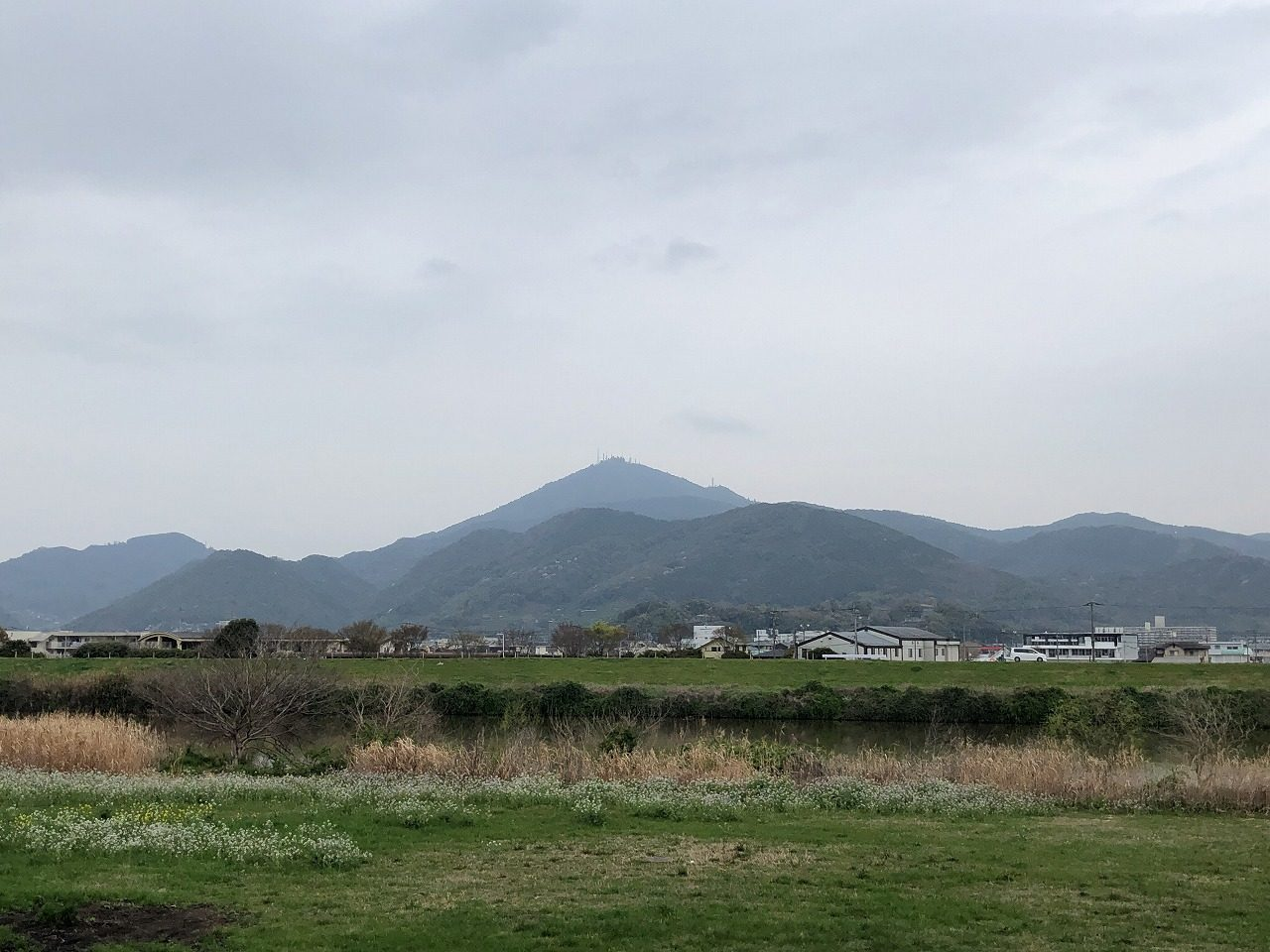 2019.3.22今朝の金峰山です。